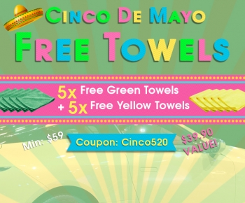 Cinco De Mayo Free Towels