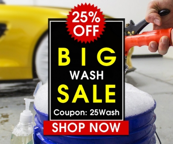25 Off Big Wash Sale