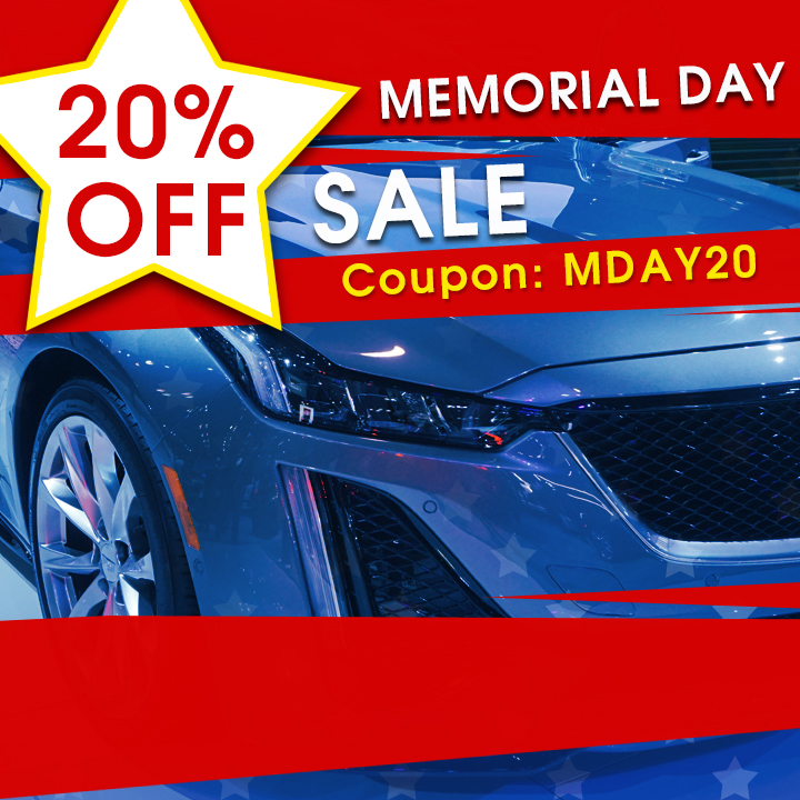 20% Off Memorial Day Sale - Coupon MDAY20