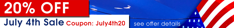 20% Off July 4th Sale - Coupon July4th20 - see offer details