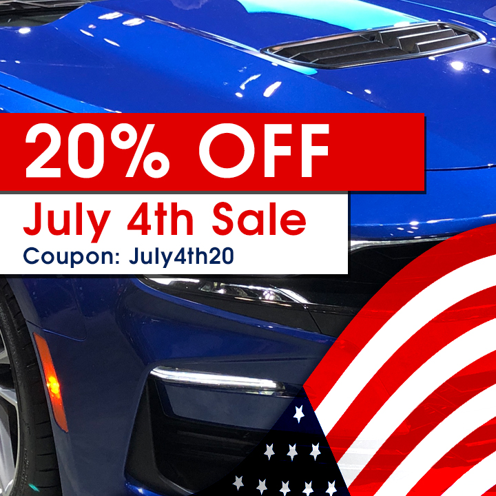 20% Off July 4th Sale - Coupon July4th20