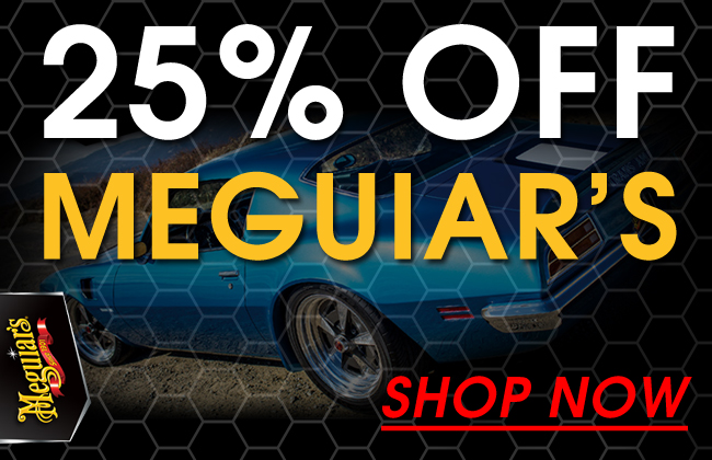 25% Off Meguiar's Sale - Shop Now