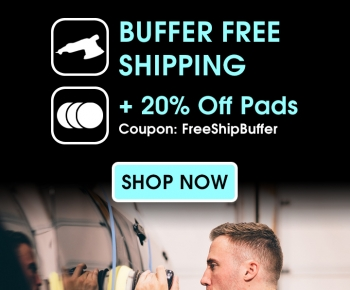 Buffer Free Shipping  20 Off Pads