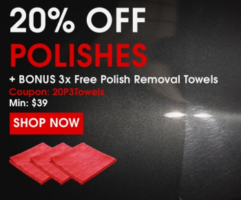 20 Off Polishes  3x Free Polish Removal Towels