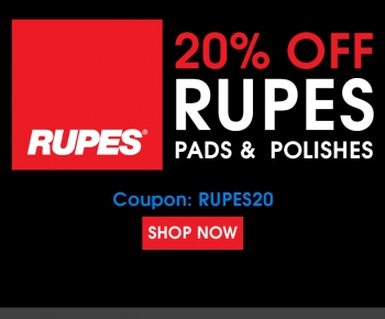 20 Off Rupes Pads  Polishes
