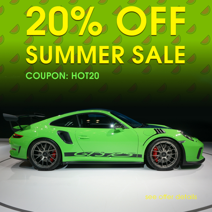 20% Off Summer Sale - Coupon Hot20 - Shop Now