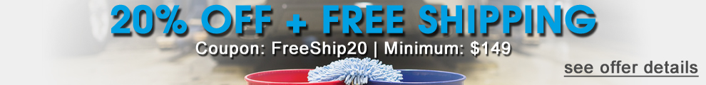 20% Off + Free Shipping - Coupon: FreeShip20 - Minimum: $149 - see offer details