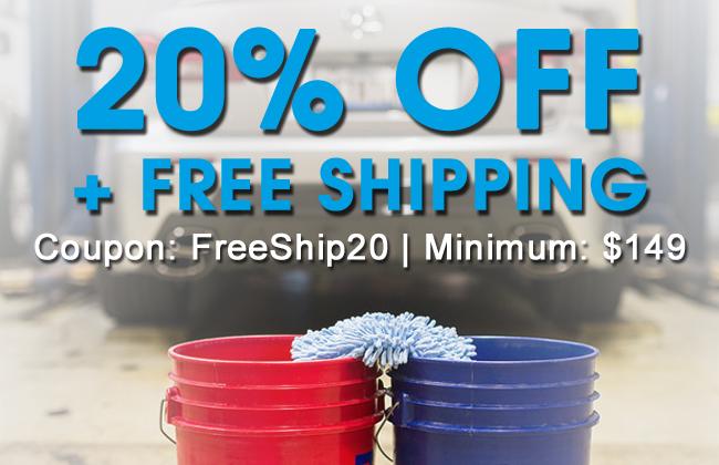 20% Off + Free Shipping - Coupon: FreeShip20 - Minimum: $149