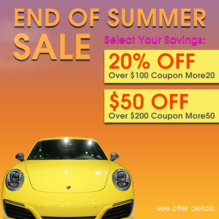 End Of Summer Sale - Select Your Savings - 20% Off Over $100 Coupon More20 - $50 Off Over $200 Coupon More50 - see offer details