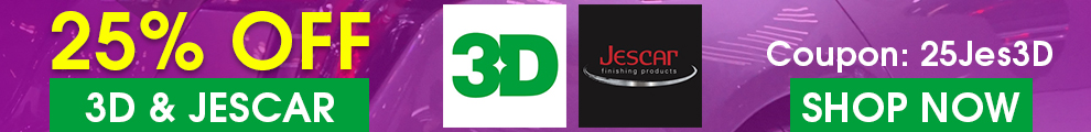 25% Off 3D & Jescar - Coupon 25Jes3D - Shop Now