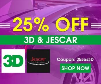 25 Off 3D  Jescar