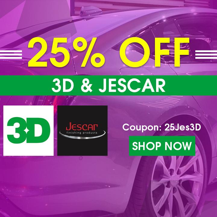 25% Off 3D & Jescar - Coupon 25Jes3D - Shop Now
