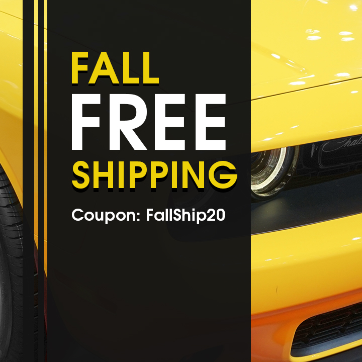 Fall Free Shipping - Coupon FallShip20 - see offer details