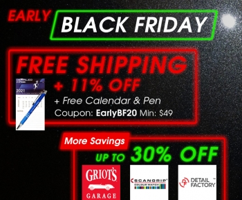 Early Black Friday  Free Shipping  11 Off