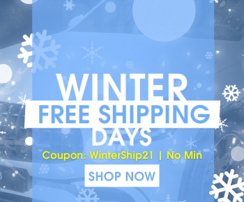Winter Free Shipping Days