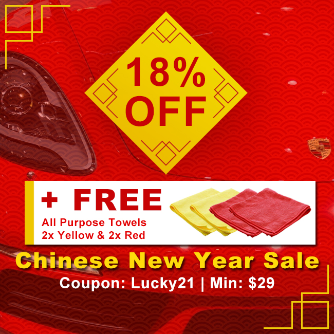 18% Off + Free All Purpose Towels 2x Yellow and 2x Red - Chinese New Year Sale - Coupon Lucky21 - Min $29