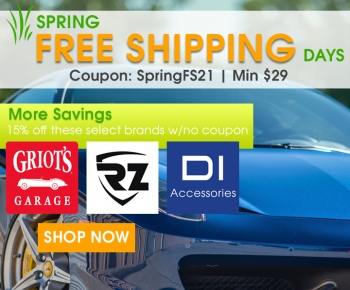 Spring Free Shipping Days
