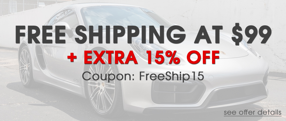 Free Shipping at $99 + Extra 15% Off - Coupon: FreeShip15 - see offer details