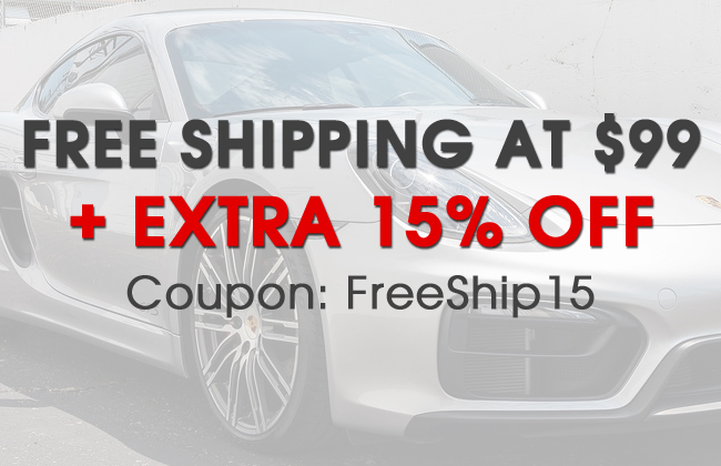 Free Shipping at $99 + Extra 15% Off - Coupon: FreeShip15