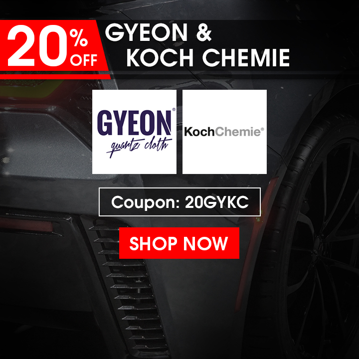 20% Off Gyeon and Koch Chemie - Coupon 20GYKC - Shop Now