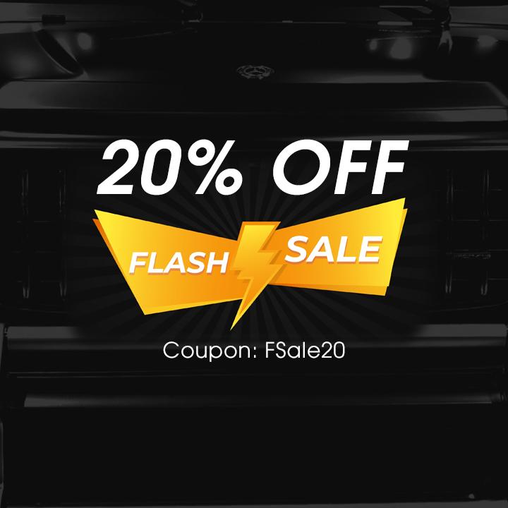 20% Off Flash Sale - Coupon FSale20