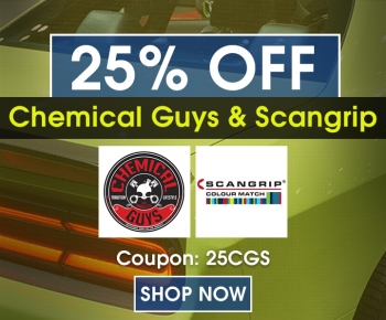 25 Off Chemical Guys  Scangrip
