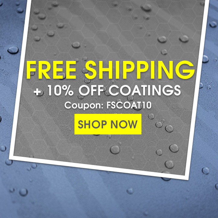 Free Shipping + 10% Off Coatings - Coupon FSCOAT10 - Shop Now