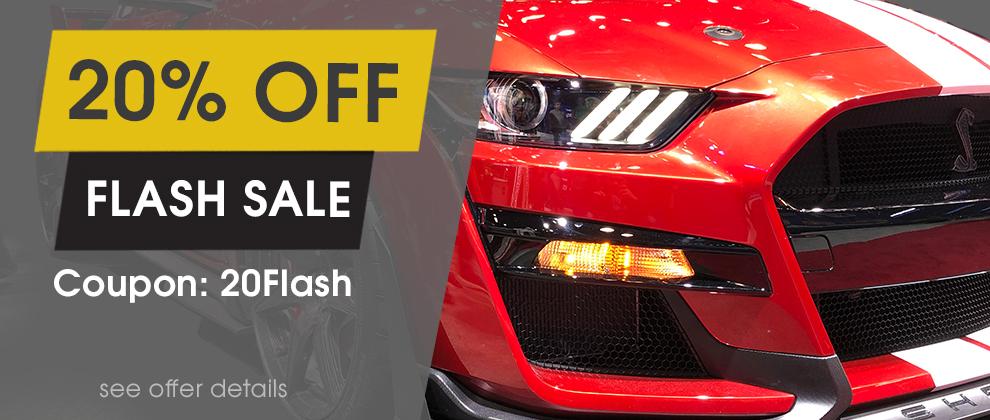 20% Off Flash Sale - Coupon 20Flash - see offer details