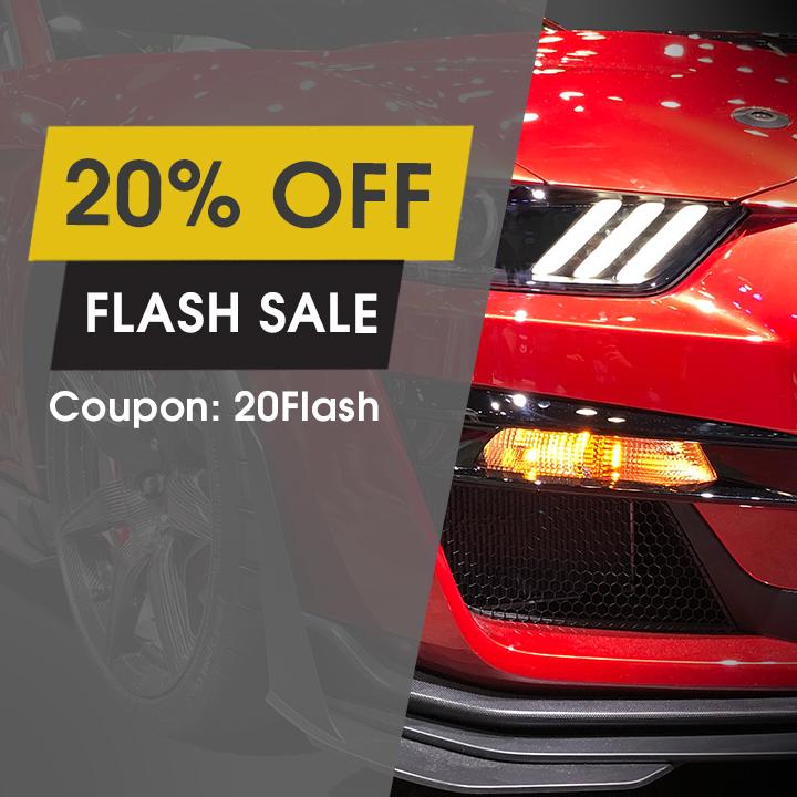 20% Off Flash Sale - Coupon 20Flash
