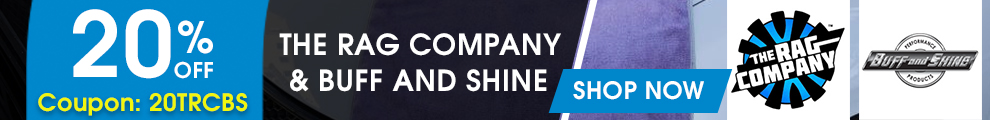 20% Off The Rag Company & Buff and Shine - Coupon 20TRCBS - Shop Now