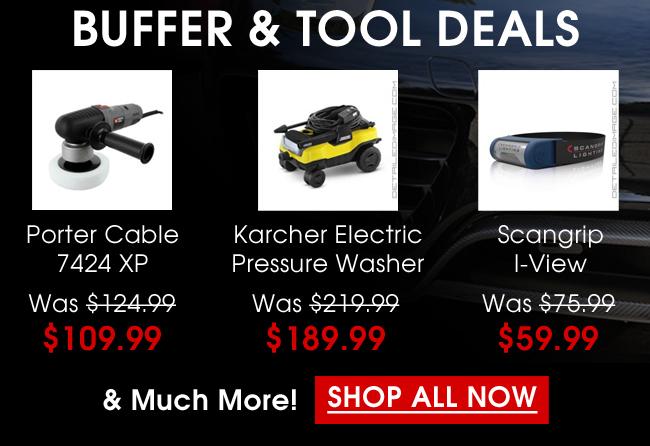 Buffer & Tool Deals - Shop All Now