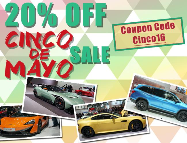 20% Off Cinco De Mayo Sale - Coupon Code Cinco16