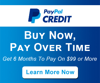 PayPal Credit - Buy Now, Pay Over Time - Get 6 Months To Pay On $99 or More - Learn More Now