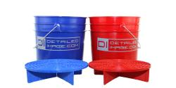2x 3.5 Gallon Buckets & 2x Grit Guards Kit