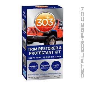 303 Automotive Trim Restorer & Protectant Kit - 4 oz