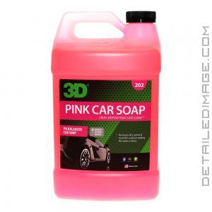 3D Pink Car Soap - 128 oz