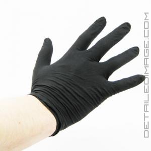 DI Accessories Latex Gloves Premium Black Powder Free