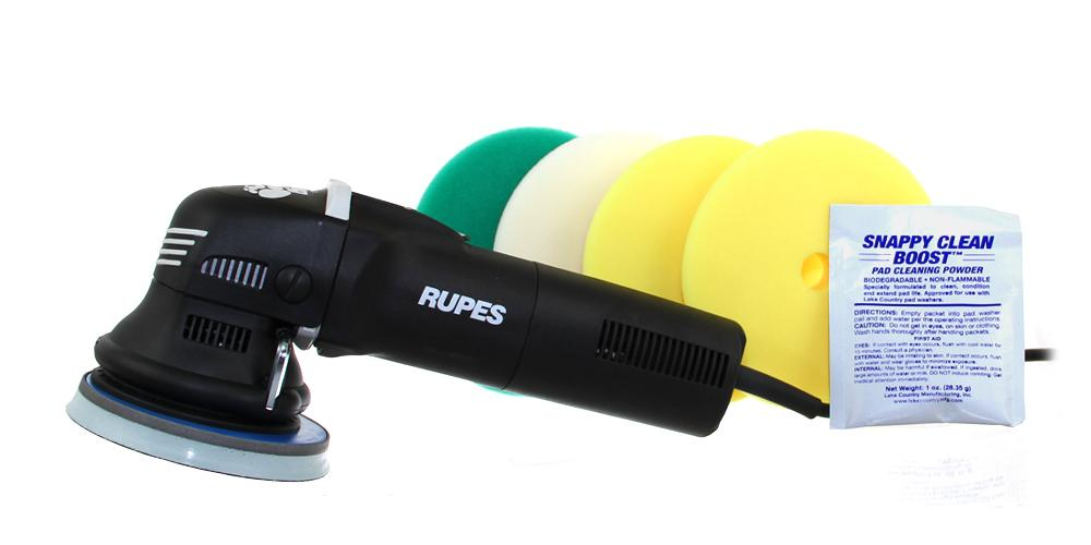 Rupes BigFoot Polisher Duetto Starter Kit