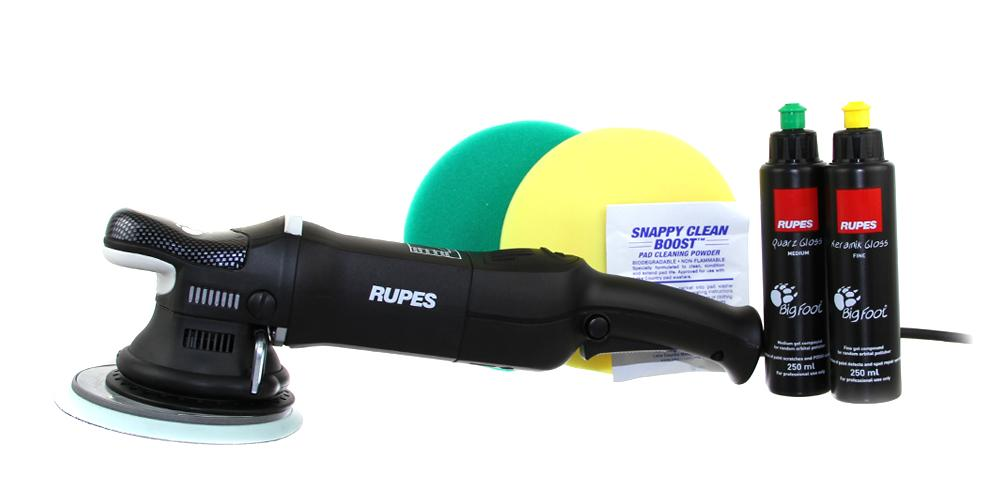Rupes BigFoot Polisher Mark II 21 and Polish Kit