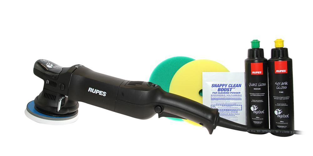 Rupes BigFoot Polisher 15ES and Polish Kit