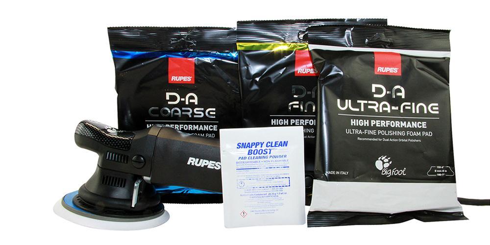 Rupes BigFoot Polisher 21ES Starter Kit