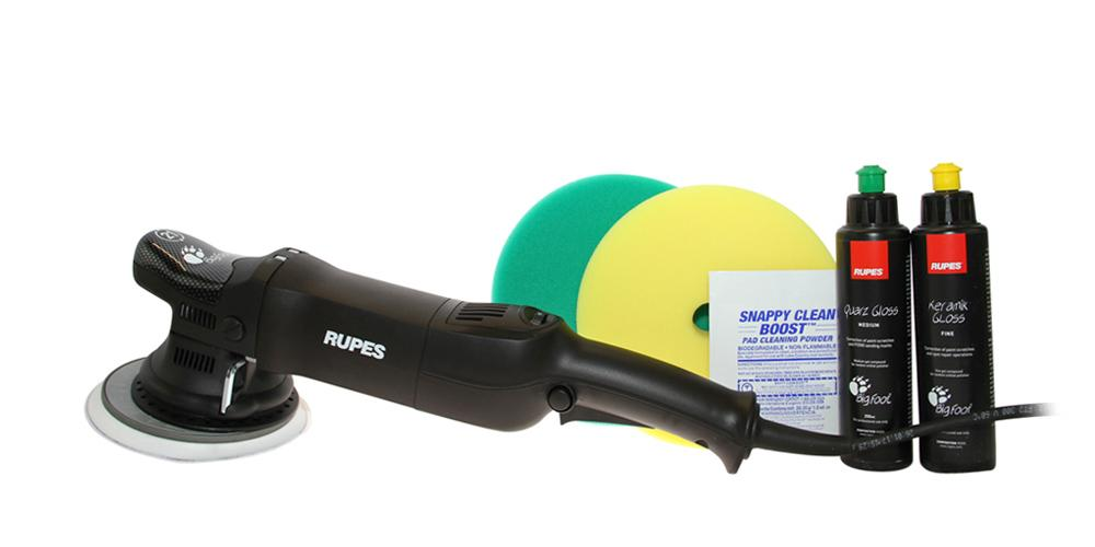 Rupes BigFoot Polisher 21ES and Polish Kit