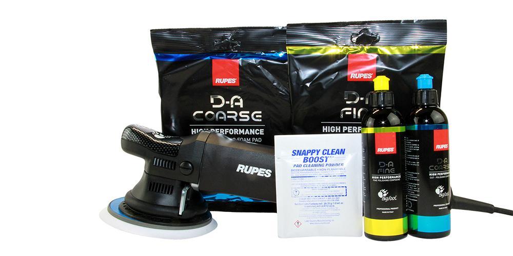 Rupes BigFoot Polisher 21ES and Polish Kit