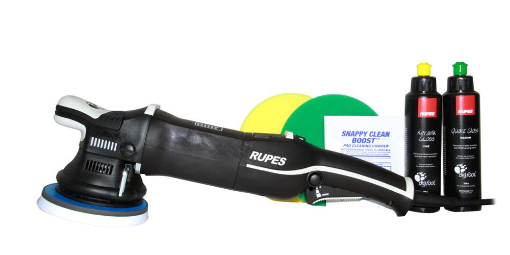Rupes BigFoot Polisher Mark III 15 and Polish Kit