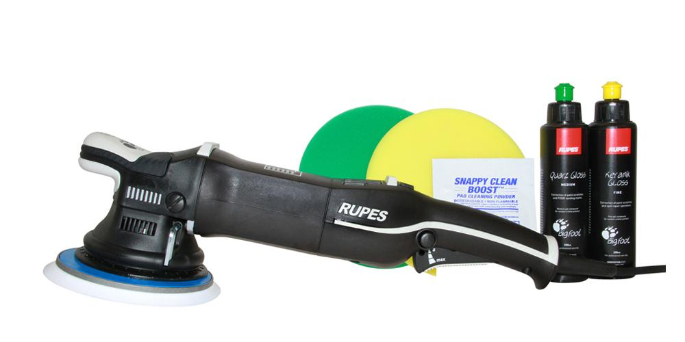 Rupes BigFoot Polisher Mark III 21 and Polish Kit