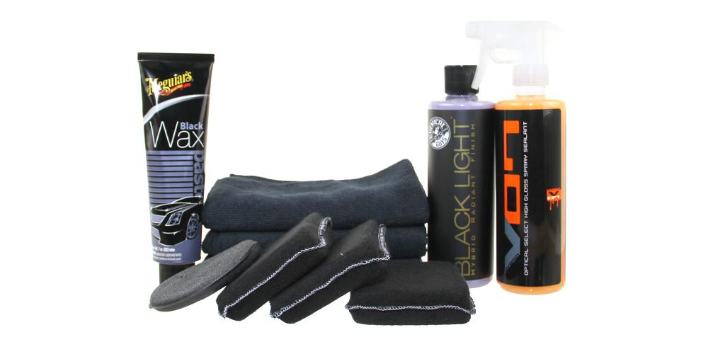 Black Car Wax Kit