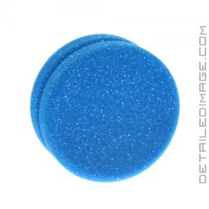 "Buff and Shine Blue Tire Dressing Applicator Sponge - 4.5"" x 2"""