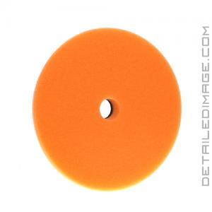"Buff and Shine Low-Pro Orange Medium Cutting Foam Pad - 5.5"""