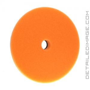Buff and Shine Low-Pro Orange Medium Cutting Foam Pad - 6.5""