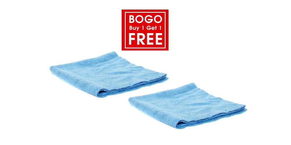 The Rag Company Buy 1 Get 1 Free Edgeless 300 Microfiber Towel